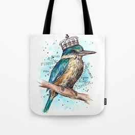 KING-Fisher Tote Bag