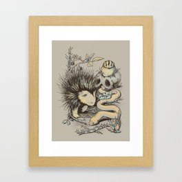 Haunters of the Waterless Framed Art Print