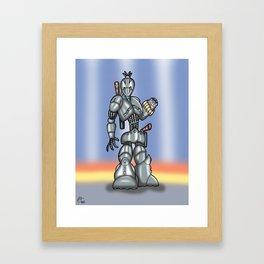 Robot Series - Assassin Model Framed Art Print