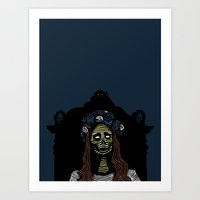 lana Art Prints featuring Lana by Stephan Brusche