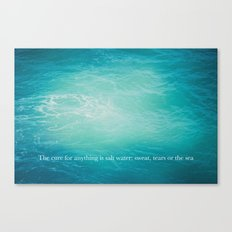 the sea 02 Canvas Print