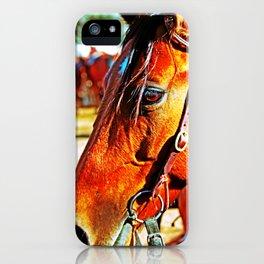 Horse-1-Color iPhone Case