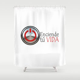 LA VIDA Shower Curtain