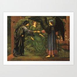 Heart of the Rose, 1889 - Edward Burne-Jones Art Print