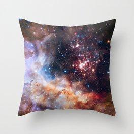 Star Cluster Westerlund 2 Throw Pillow