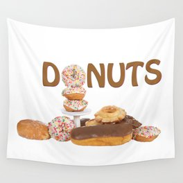 Delightful Donuts Wall Tapestry