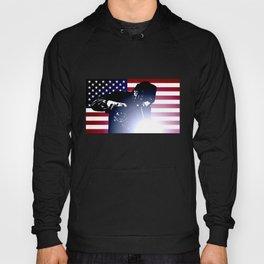 Welder: American Flag Hoody