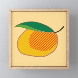 Mango Framed Mini Art Print