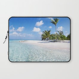 Maldives beach Laptop Sleeve