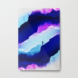 Violet dream of Isolation Metal Print