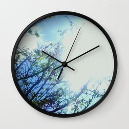 Reaching for the Light Wall Clock