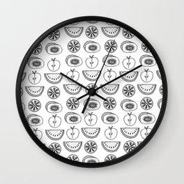 Fruit Slice Wall Clock