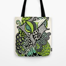The flying snail Tote Bag