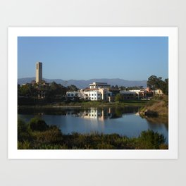 University of California, Santa Barbara (UCSB) Art Print