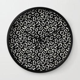Tribal Cat 2 Wall Clock