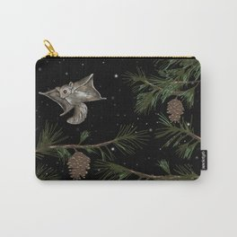 FLYING SQUIRRELS IN THE PINES Carry-All Pouch