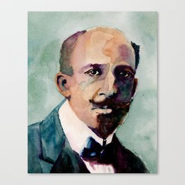 W.E.B. Du Bois Canvas Print