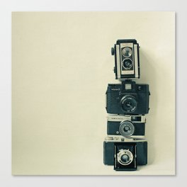 Camera Love Canvas Print