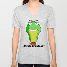 Uncle Frogface Unisex V-Neck