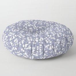 Lunaria - Blue Floor Pillow
