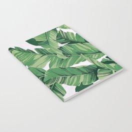 Tropical banana leaves VI Notebook