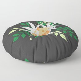Lily Bouquet Floor Pillow