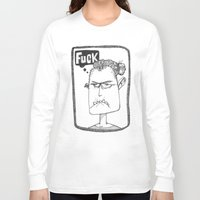 selfie Long Sleeve T-shirts featuring Selfie by Lisa Hammar