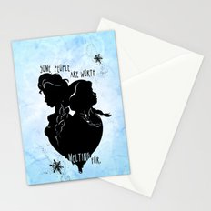 Some People Are Worth Melting For Stationery Cards