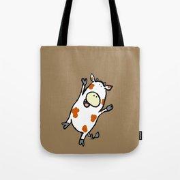 Hot Diggity Cow  Tote Bag