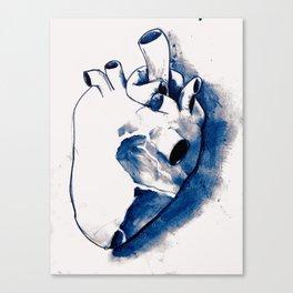 corazónB Canvas Print