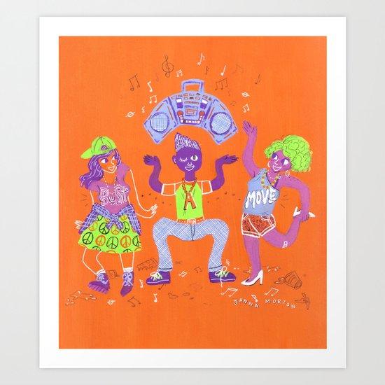 Bust a Move Art Print