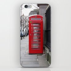 London Phone Booth iPhone & iPod Skin