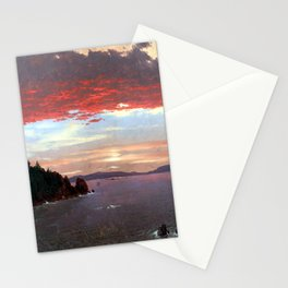 Frederic Edwin Church Schoodic Peninsula Stationery Cards
