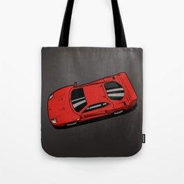 Red Berlinetta F40 Tote Bag