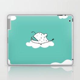 Flying Angler Fish by Amanda Jones Laptop & iPad Skin