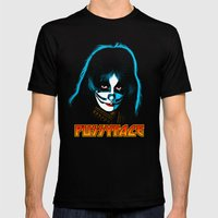 PUSSYFACE SMALL Black Mens Fitted Tee
