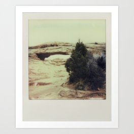 Canyonland National Park - Polaroid Art Print