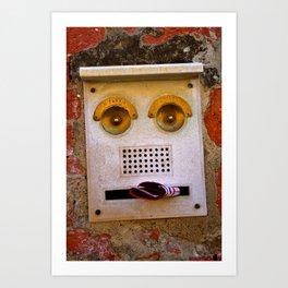 Smile, you are in Venice! Art Print