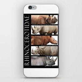 Rhinos of the World iPhone Skin