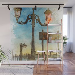 Venezia Servizio Gondole - SKETCH Wall Mural