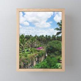 Sri Lankan Gardens Framed Mini Art Print