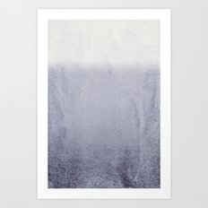 FADING GREY Art Print