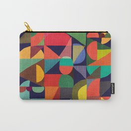 Color Blocks Carry-All Pouch