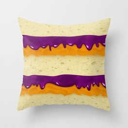 PBJ Throw Pillow
