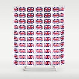 flag of uk 3 - London,united kingdom,england,english,british,great britain,Glasgow,scotland,wales Shower Curtain
