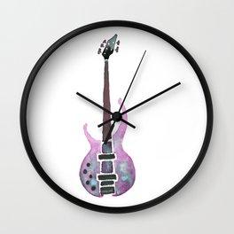 Guitar 2 Wall Clock