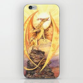 Celestial Dragons - The Sun iPhone Skin