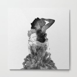 Can't make it without you. Metal Print
