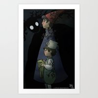 Greg, Wirt and the Beast Art Print
