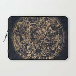 Vintage Constellations & Astrological Signs | Yellowed Ink & Cosmic Colour Laptop Sleeve